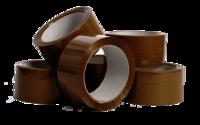 Brown / Transparent Tape