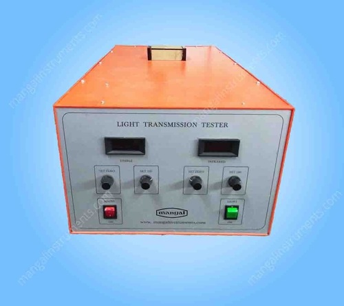 LIGHT TRANSMISSION TESTER (VISIBLE AND INFRARED