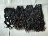Vintage Wavy Human Hair