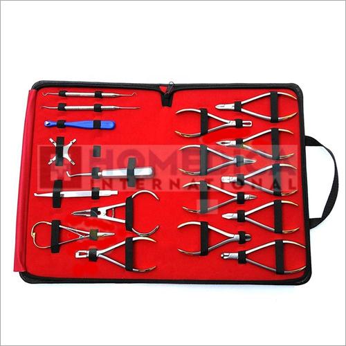 18 PCs Basic Orthodontics Dental Instruments