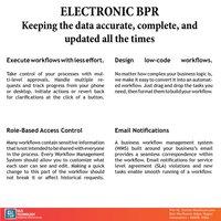 Electronic BPR