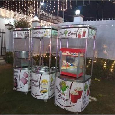 Popcorn Service Trolley
