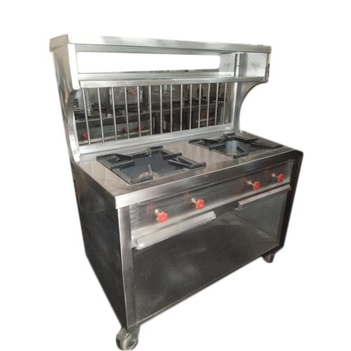 Two Burner Indian Cooking Range