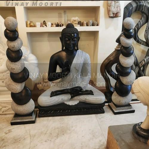 Sandstone Buddha Stone