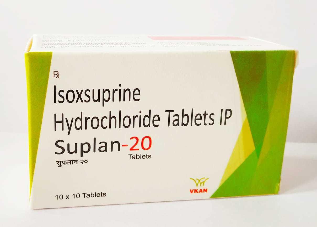 Isoxsuprine 20mg