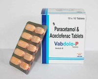 Aceclofenac (100mg) + Paracetamol/Acetaminophen (325mg)