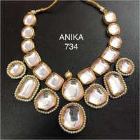 Artificial and Kundan Necklace