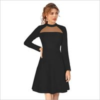 Ladies Black Western dress