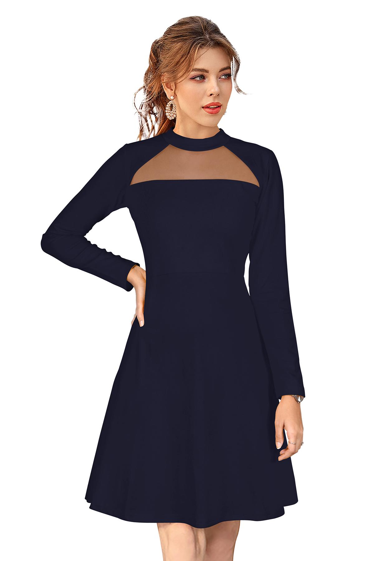 Ladies Black Western dress