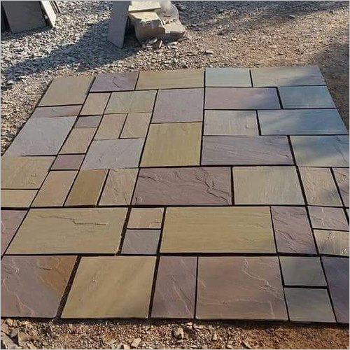 Mix Brown Natural Paving for Flooring
