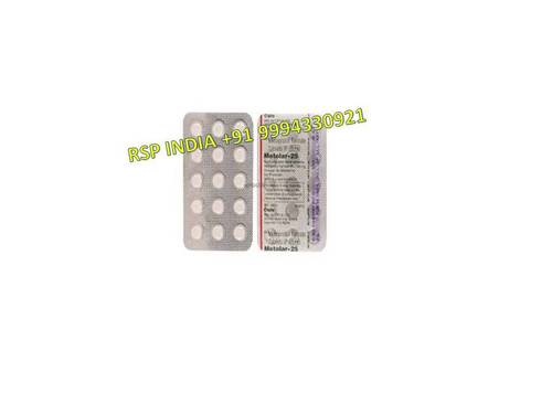 Metolar 25 Mg Tablets