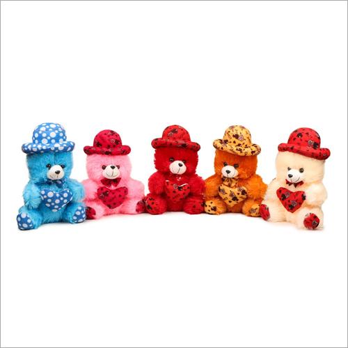 Small Soft Teddy Bear With Heart