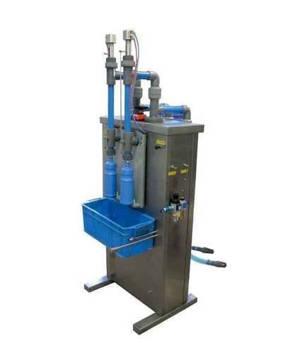 Corrosive, Disinfection Liquid Filler / Bleach, Floor Cleaner Filling Machine