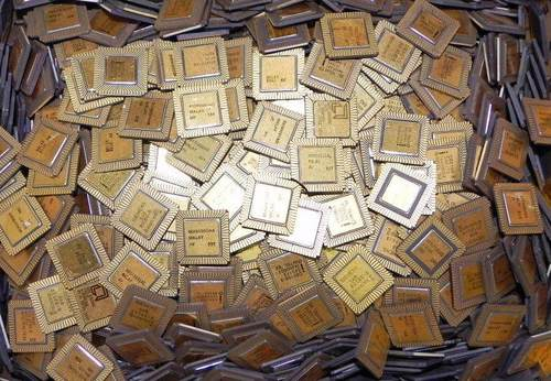 Quality  Ceramic Cpu Processor Scrap With Gold