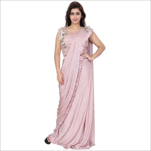 Ladies Designer Drape Saree