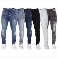Mens Lyrca Jeans