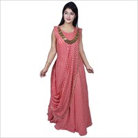 Ladies Saree Gown