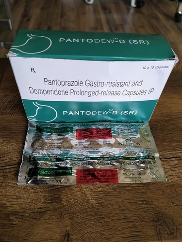 Pantoprazole Gastro Registant and Domperidone Prolonged Release Capsules