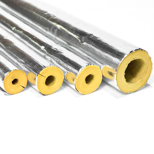 Glasswool Pipe Section