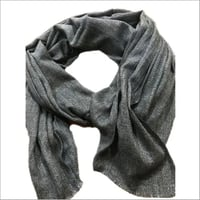 Natural Tone Cashmere Scarf in Twill and Plain weaves