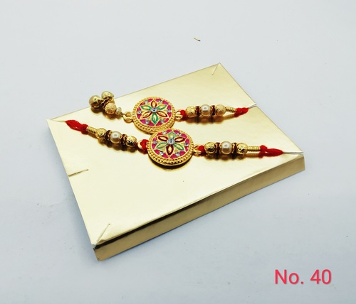 Designer Rakhi for Bhai Bhabhi