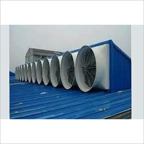 Forced Draft Roof Top Ventilation