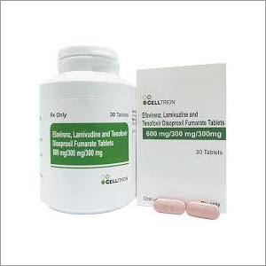 Tenofovir Lamivudine and Efavirenz Tablets