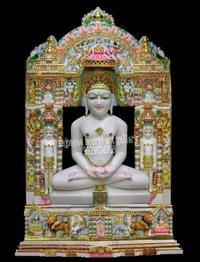Marble Jain Mahaveer Swami Statue