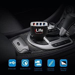 USB Car Charger - 4 Port
