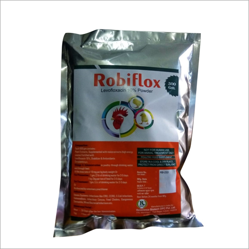 Robiflox Powder Levofloxacin Powder 10%