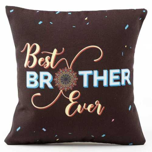Best Brother Ever Rakhi Cushion I Pillow