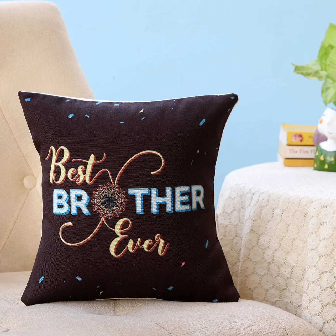 Best Brother Ever Rakhi Cushion I Pillow