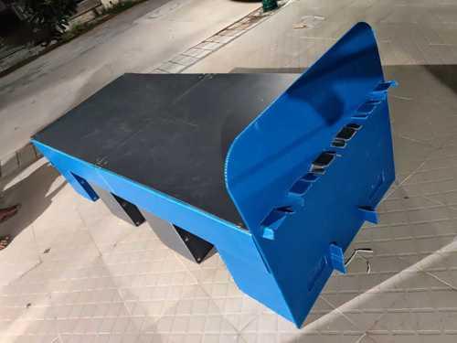 Plastic Corrugated Isolation Bed