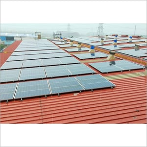 Industrial Rooftop Solar Panel Installation Service