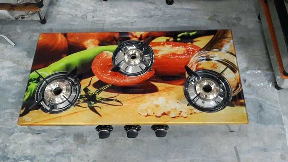 Printed Marvel Gas Stove