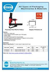 Pneumatic Plier PRO-PL77925LJ