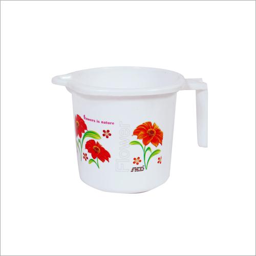 Printed Plastic Water Mug
