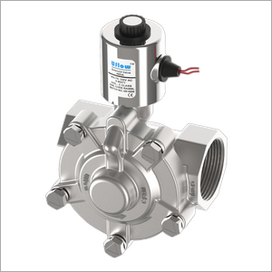Industrial Pilot Operated Diaphragm Type Solenoid Valve