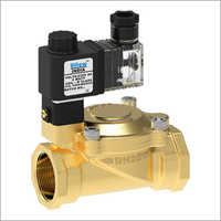 Pilot Operated Diaphragm Type Screwed Solenoid Valve