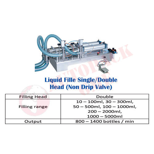 Sharbat / Squash, Volumetric Liquid, Syrup Filling Machine