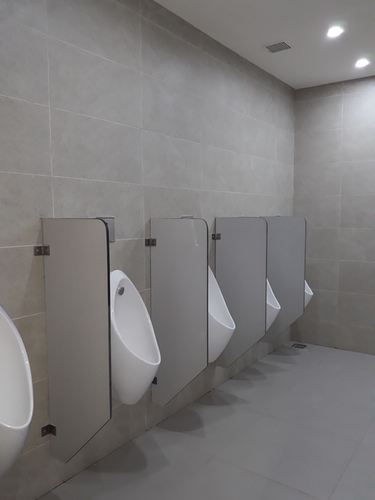 Hpl Urinal Partition - Semi Chamfer