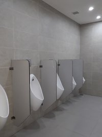 Semi Chamber Urinal Partition