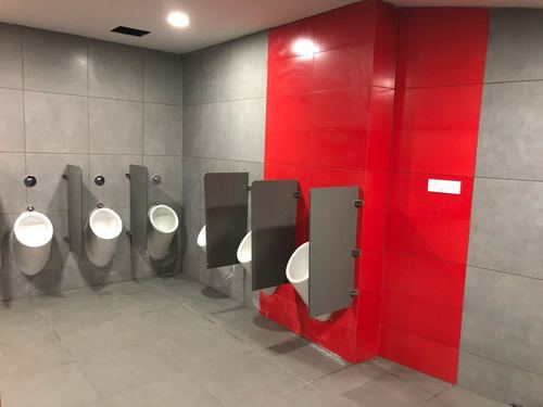 Hpl Urinal Partition - Straight