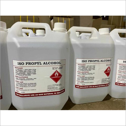 Isopropyl Alcohol 5 Ltr Can