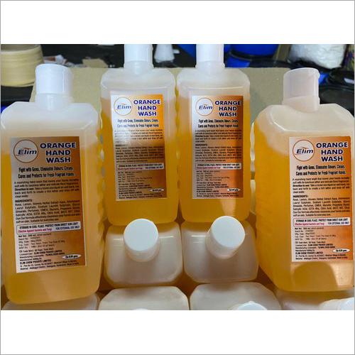 Orange Hand Wash Chemical