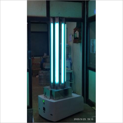 Uvc Disinfection Sterilizer Robot
