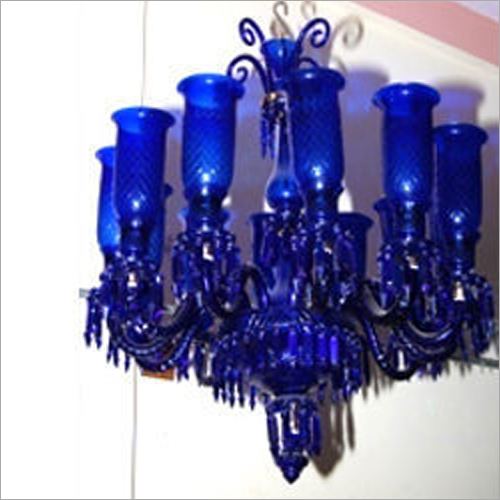 12 Arm Double Step Chandelier