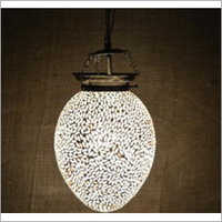 Crystal Glass Hanging Lamp