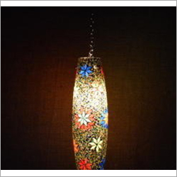 Fancy Glass Mosaic Hanging Lamp