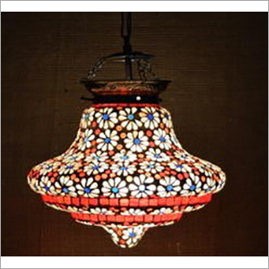 Designer Glass Mosaic Hanging Lamp